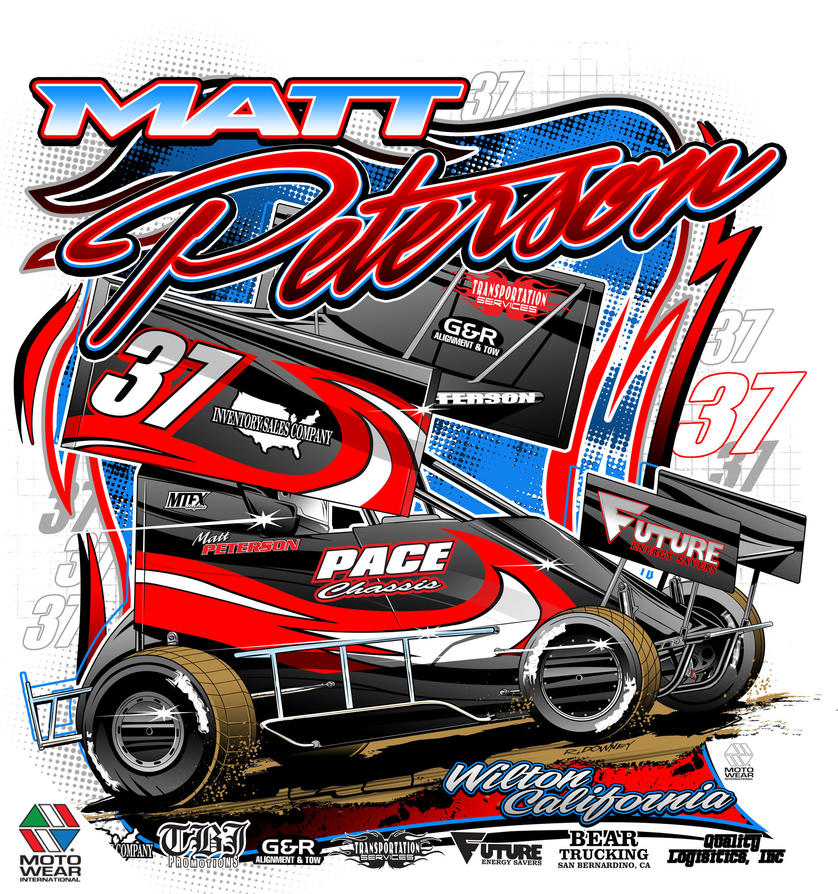 Sprint Car Graphics Design Sprint Car Design Template
