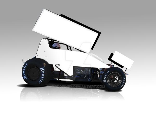 Sprint Car Paint Template