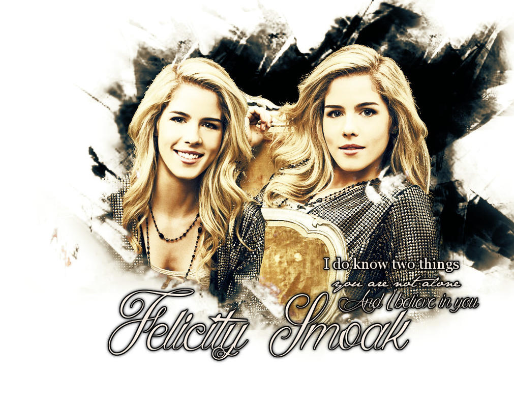 Felicity Smoak by LeavesFallingUp14