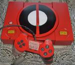 Custom PlayStation, Deadpool theme (with pad)