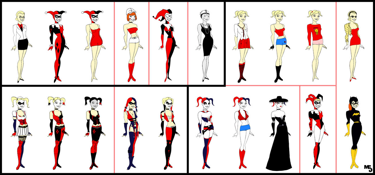 Harley on all her new outfits. [Harely Quinn 3]  DCcomics