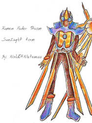 Commission Kamen Rider Prism SunLight Form