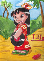 Lilo to Isabela by kotori-chan