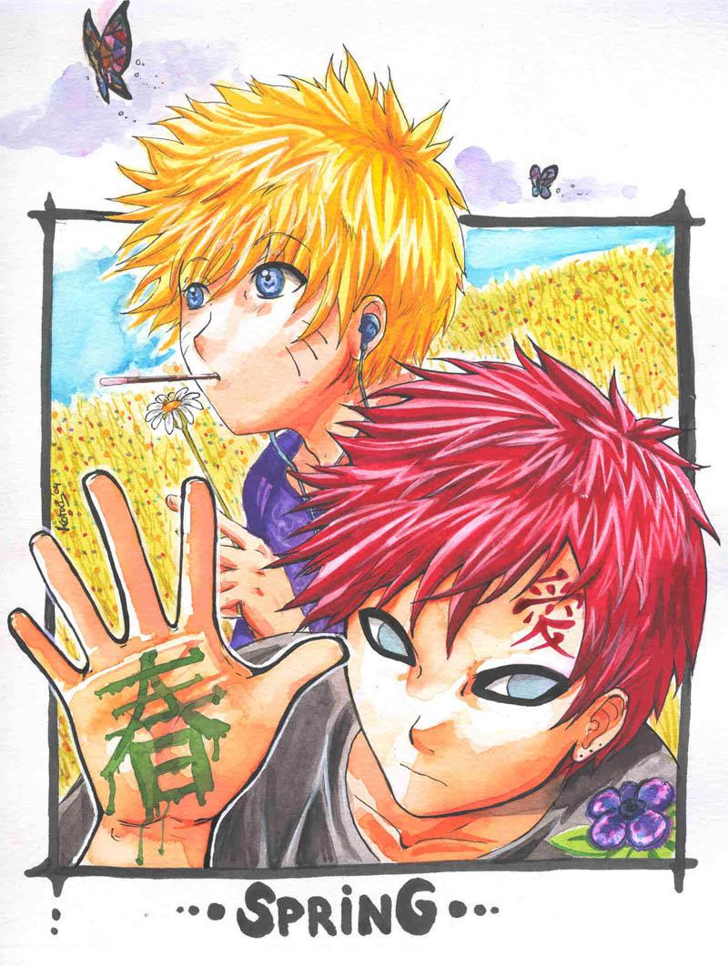 Best friends Gaara and Naruto | Gaara & Naruto - Best Friends ...