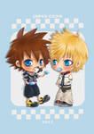 Kingdom Hearts - Popsicles
