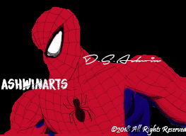 Spider Man (Low Quality) by AshwinArts