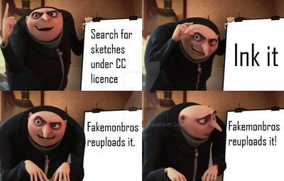 Gru Meme by AshwinArts