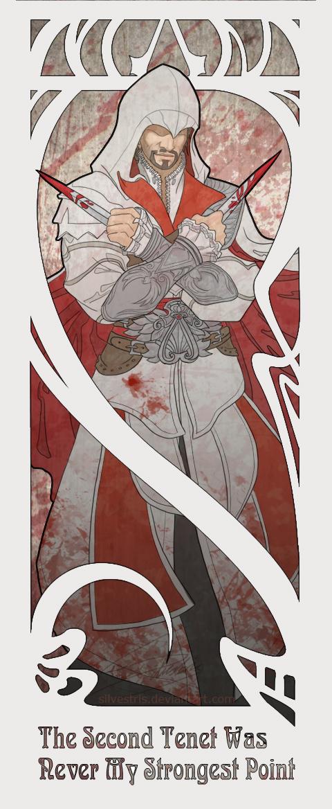 Assassin's Creed Mafia~Mafia wins! Ac_nouveau___ezio_by_silvestris-d4fos29