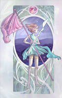 I will fight in the name of Rose Quartz by silvestris