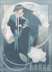Art Nouveau Lotus