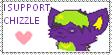 Chizzle stamp by MannieTheLeopard