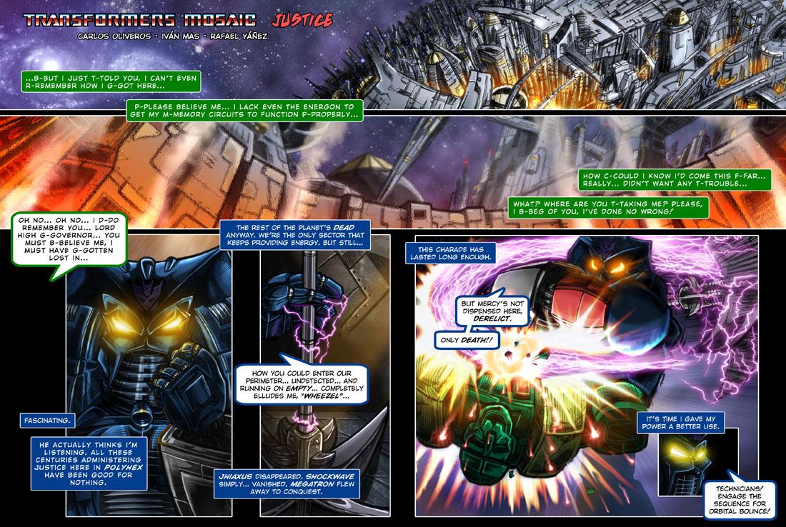 Transformers MOSAIC: Justice by hombreimaginario