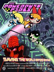 Powerpuff girls movie poster by hombreimaginario