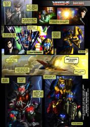 Transformers Mosaic: HEROES by hombreimaginario