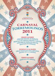Torremolinos 2011 Carnival Parade poster