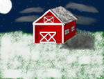 Barn background for Tribble by bluewolf14