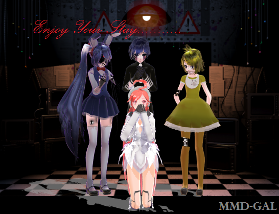 Mmd Fnaf You Made A Very Poor Carere Chocie By Mmd Gal