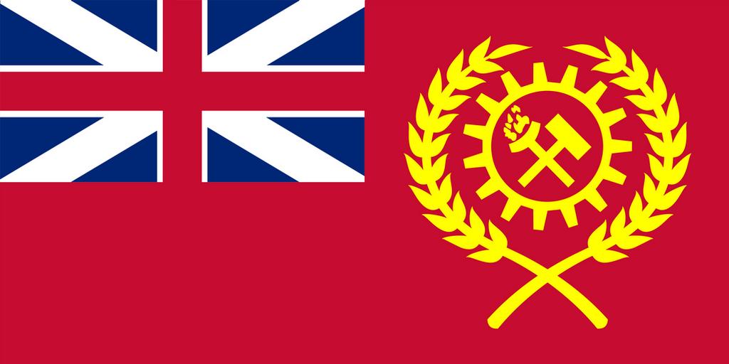 Kaiserreich - Union of Britain Flag