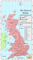 Union of Britain Administrative Map