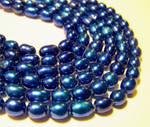 royal blue freshwater pearls