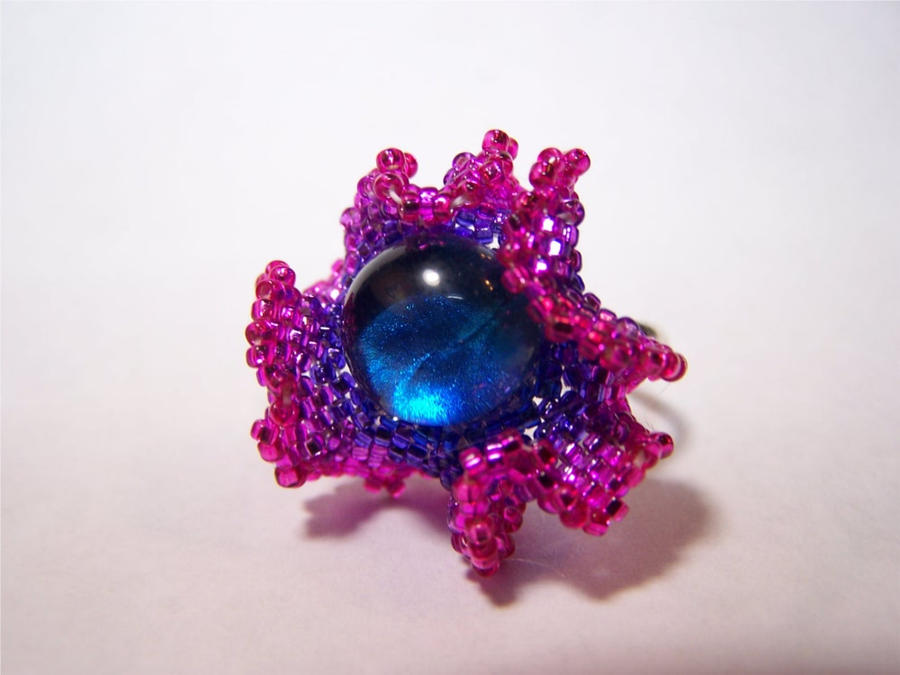 Supernova Shimmerstone ring by Bright-Circle