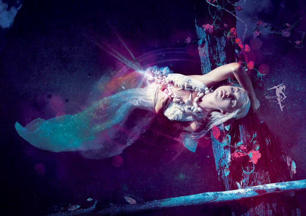 Mermaid Vs Morpheus by WalkyrieC