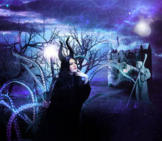 MALEFICIENT - Entry for contest ! by WalkyrieC