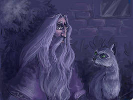 HP_Dumbledore and McGonagall by kissyushka