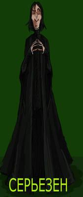 different portrait of Snape09