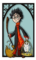 Harry Potter by kissyushka