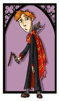 Ron Weasley by kissyushka