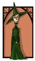 Minerva McGonagall by kissyushka