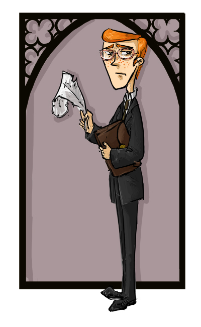 Jeu des dessins HP! ^^ - Page 4 Percy_weasley_by_kissyushka-d4dmj7e