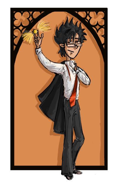James Potter by kissyushka