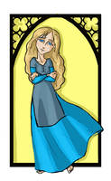 Ariana Dumbledore by kissyushka