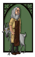 Aberforth Dumbledore by kissyushka