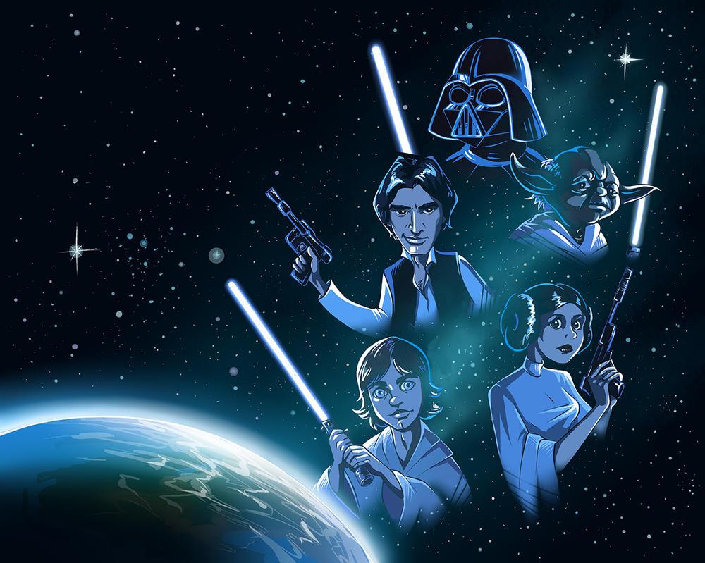 Star Wars by kissyushka
