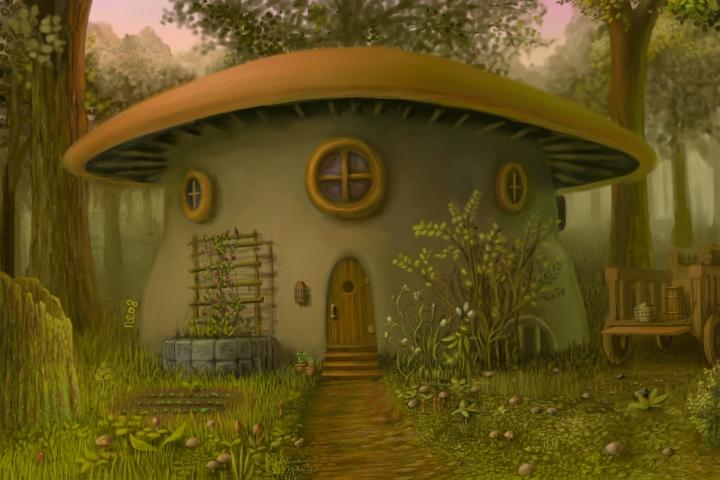 healer's hut by human-brain