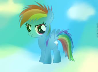 Baby Rainbow Dash 2.0 (Improved) by ILoveEdwardRichtofen