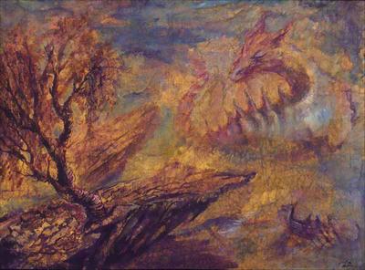 Two dragons by Jasvena