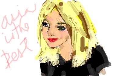 Blonde Girl by natasian