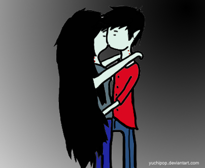 Marceline And Marshal Adventure Time Marshall Lee Kiss