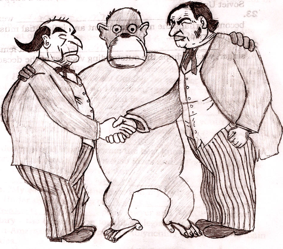 Scopes Trial Cartoon Darwin And Evolution In Cartoons And