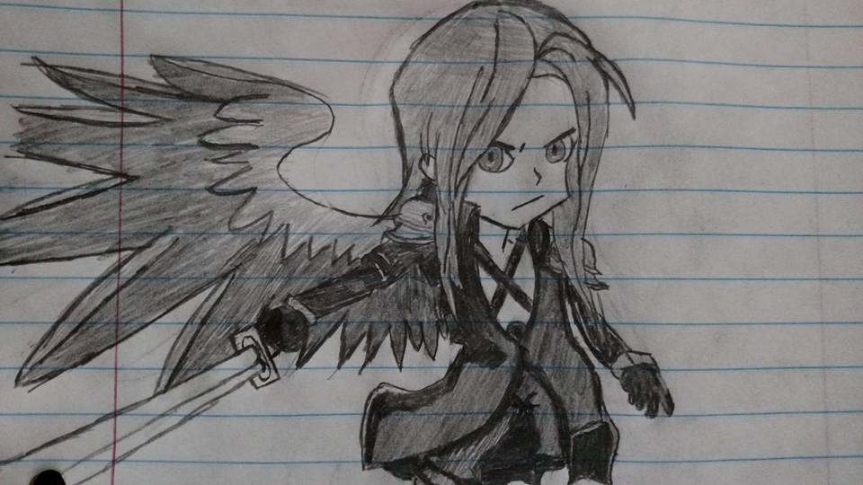 Sephiroth Redraw by Jmoney2495