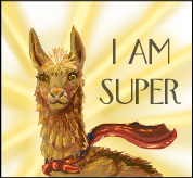 LLAMAS ARE SUPER by the-perspective