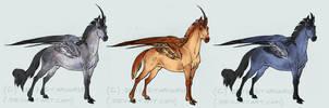 Kakahn Trio by Starhorse