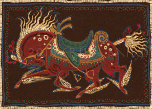 Embroidery Horse