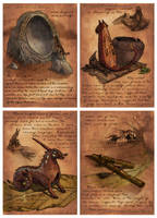 Dumarian Instruments by Starhorse