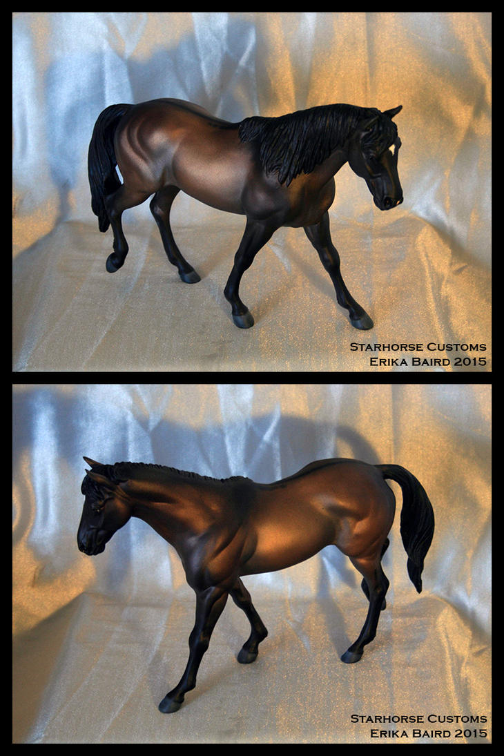 'Charface' Breyer CM Resculpt by Starhorse