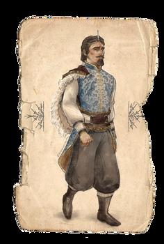 Tiago's Gala Outfit